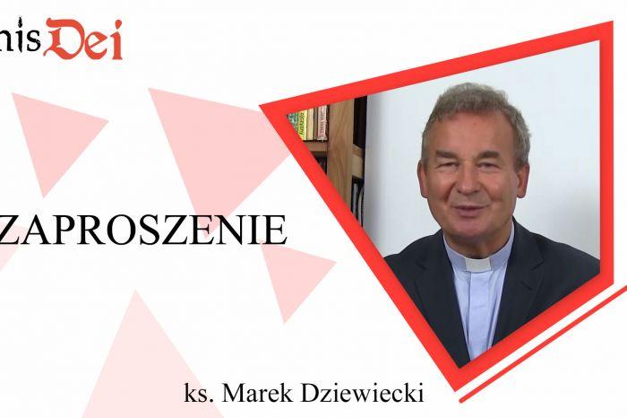 Rekolekcje ks. Marek Dziewiecki - Zaproszenie